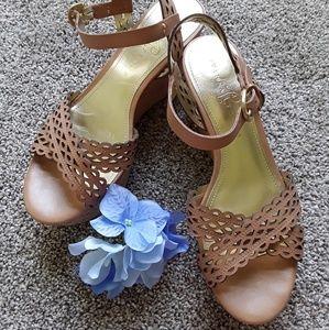 9a18714c2cd Ivanka Trump ankle strap sandals women